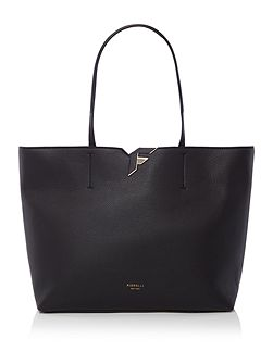 Tate black large tote bag