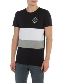Jack & Jones Horizon Block Stripe Crew Neck T-shirt