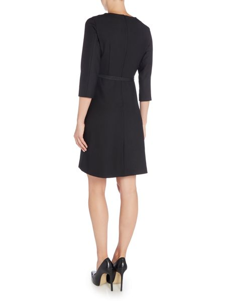 Max Mara Sabbia long sleeve shift dress