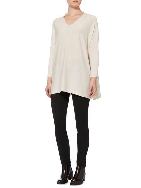 Max Mara Giorna loose fit v neck sweater