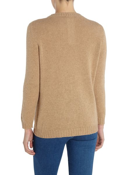 Max Mara Gimmy Long Sleeve Alpaca Jumper