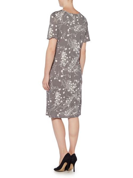 BRAINTREE Yandee Printed Drop Waist Dress