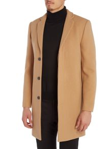 Selected Homme Brook Wool/Cashmere Overcoat