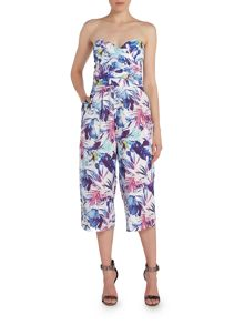 Girls on Film Bandeau Culotte Jumpsuit