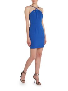 Girls on Film Strappy Bodycon Dress