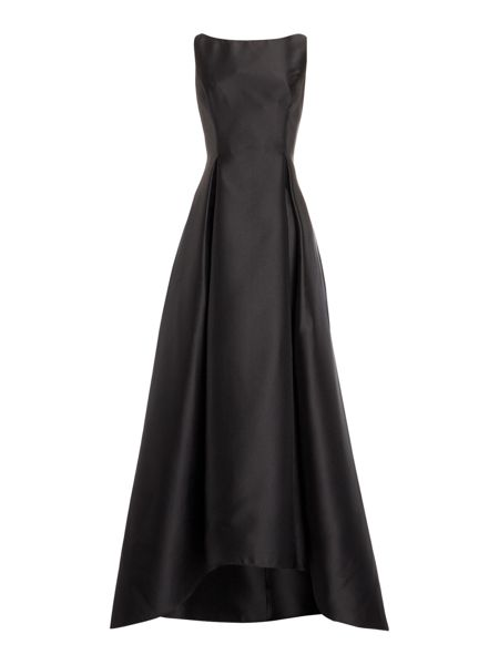 Adrianna Papell Mikado full skirt gown