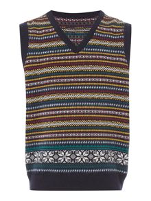Howick Junior Boys Fairisle Tank Top