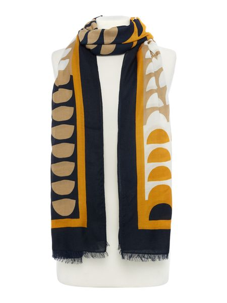Dickins & Jones Half Spot Scarf