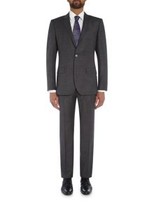 Hugo Boss Hutson Gander Textured Suit