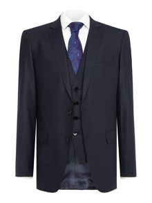 Hugo Boss Huge Genius Plain Weave Suit