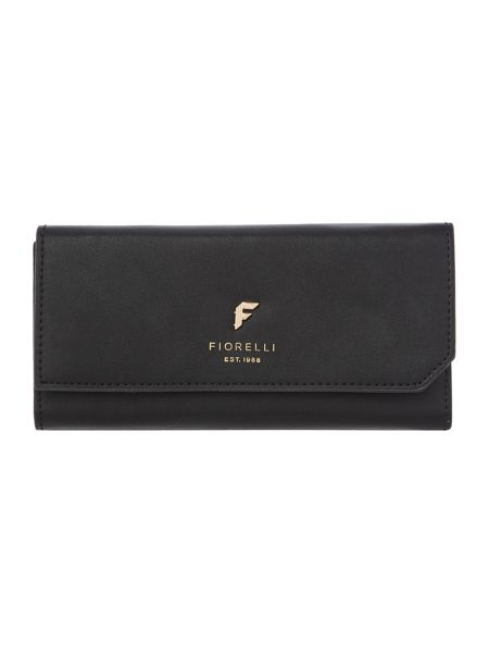 Fiorelli Drew black medium flap over purse