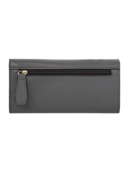 Fiorelli Drew grey medium flap over purse