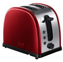 Russell Hobbs Legacy Red 2 Slot Toaster