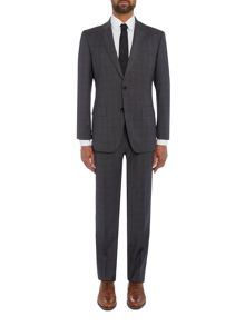 Hugo Boss Huge Genius Over Check Suit