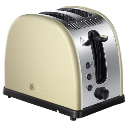 Russell Hobbs Legacy Cream 2 Slot Toaster
