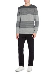 Criminal Leo Stripe Jumper