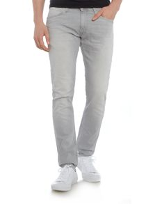 Lee Luke grey cloud slim taper jean