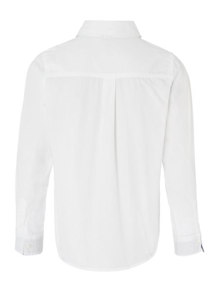 name it Boys Oxford Solid shirt