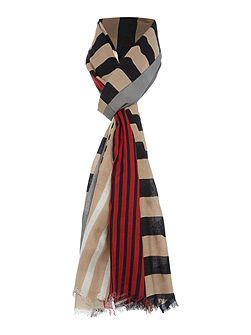 Cut About Stripe Scarf
