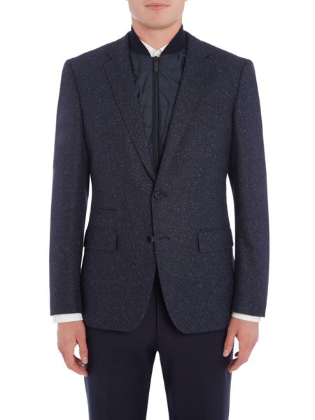 Hugo Boss Hadwart Speckled Blazer