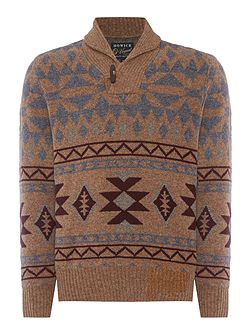Colorado Shawl Neck Jumper