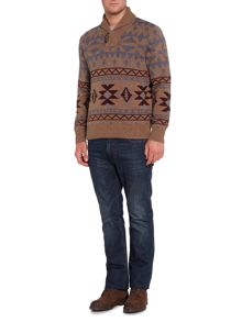 Howick Colorado Shawl Neck Jumper
