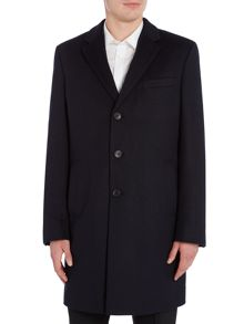 Hugo Boss Nye Crombie Wool Cashmere Coat