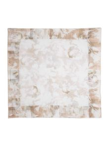Gray & Willow Brushed Floral Square