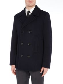 Hugo Boss Nodin Double Breasted Peacoat