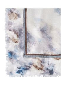 Gray & Willow Blurred Print Square