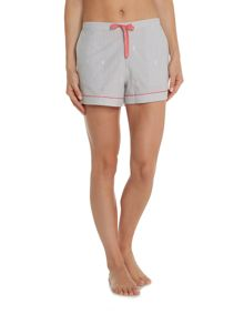 Dickins & Jones Embroidered Stripe Short