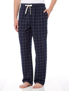 Howick Window check flannel print pyjama pant