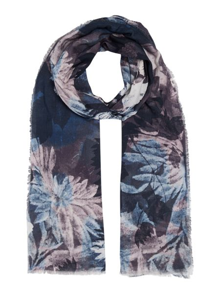 Gray & Willow Watercolour Print Scarf
