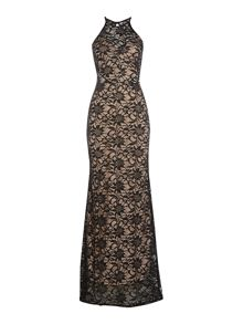 Jessica Wright Sleeveless Lace Maxi Dress