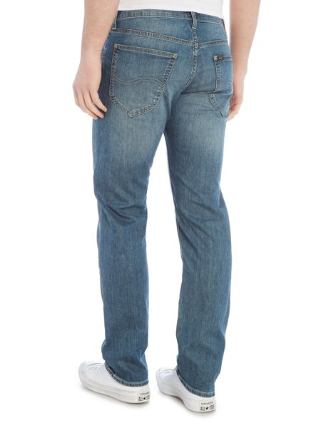 Lee Daren storm grey regular slim jean