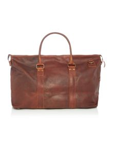 Lyle and Scott Leather Holdall