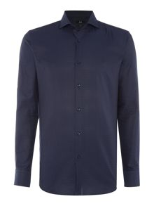 Hugo Boss Jason Jacquard Gingham Shirt