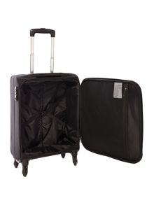 Antler Salisbury black 2 wheel soft cabin suitcase