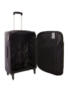 Antler Salisbury black 4 wheel soft medium suitcase