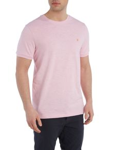 Farah Langton regular fit crew neck slub t shirt
