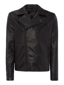 Only & Sons PU Biker Jacket
