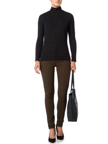Biba Plain super stretch skinny stevie jeans