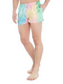 Boardies Short Length Tropicano Leaf Swim Shorts