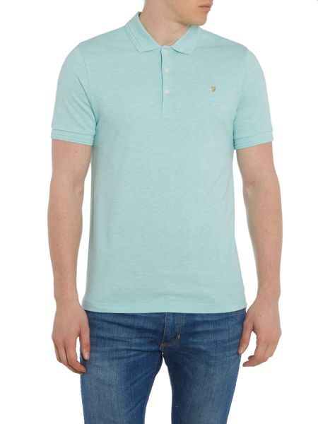 Farah Woodford regular fit marl pique polo shirt
