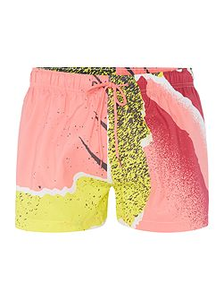 Short Length Andre II Print Swim Shorts