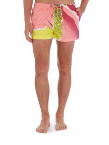 Boardies Short Length Andre II Print Swim Shorts