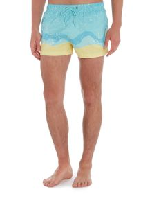 Boardies Short Length Balian Speck And Swirl Swim Shorts