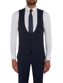 Kenneth Cole Morgan slim fit horseshoe waistcoat