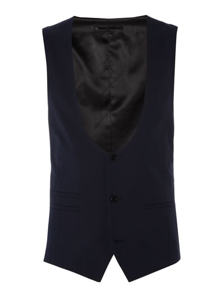 Kenneth Cole Reginald slim fit suit waistcoat