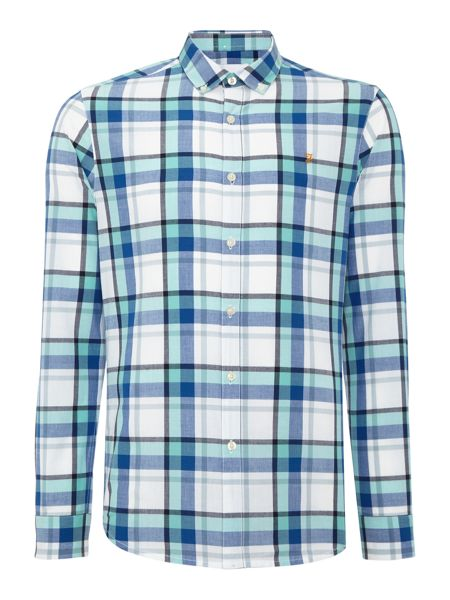 Farah Askie regular fit check shirt